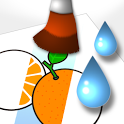 Coloring with Water Vegetable icon