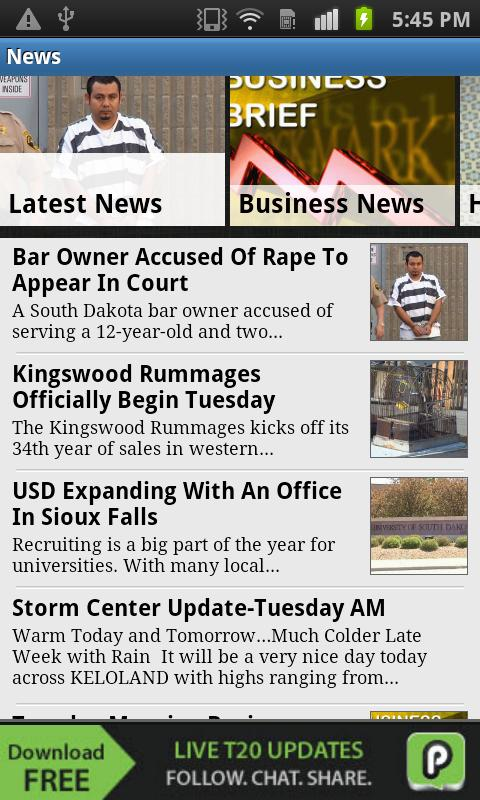 KELOLAND News/Weather/Sports - screenshot
