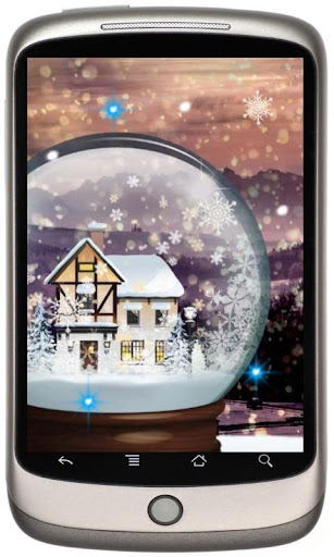 Winter Gifts live wallpaper
