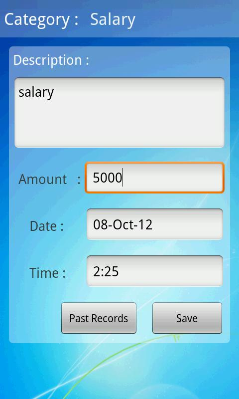 Expense Tracker - screenshot