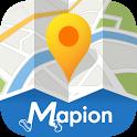 地図マピオン - 駅の出入り口やバス停までわかる高品質な地図 icon