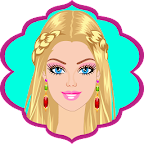 Floral Barbie Dress Up Game
