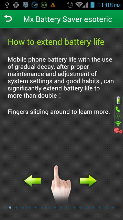 MX Battery Saver - screenshot
