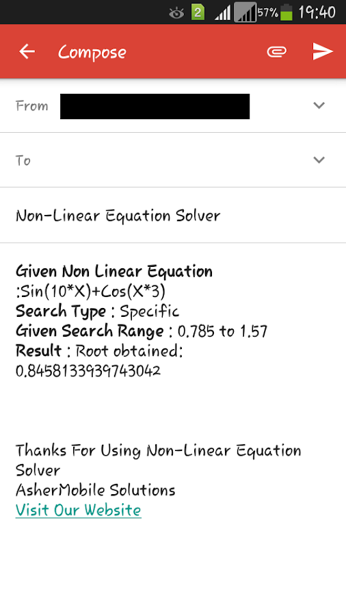 Non Linear Solver Free- screenshot