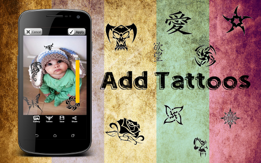 Amazing & Unique Tattoo maker app (apk) free download for Android/PC/Windows screenshot