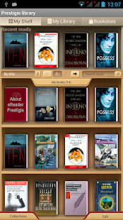 eReader Prestigio Book reader - screenshot thumbnail