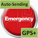 an Emergency Button GPS+ logo