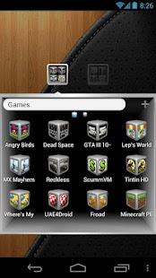 Silver Cube Theme 4 GoLauncher- screenshot thumbnail