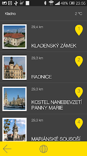 Kladno - audio tour- screenshot thumbnail