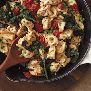 Tortellini with Spinach and Brown Butter.