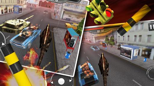 玩免費模擬APP|下載恐龍的攻擊3D app不用錢|硬是要APP