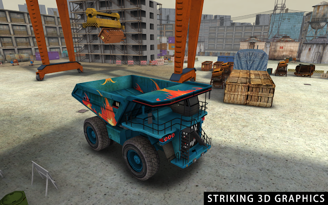 Industrial Truck 3D Parking- screenshot thumbnail