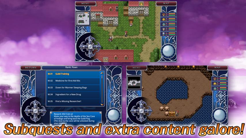 RPG Alphadia2 - screenshot