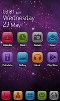 Screenshot of Lix GO Launcher Theme