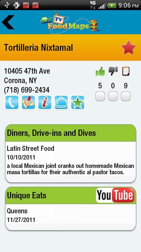 App To Find Food Network Restaurants