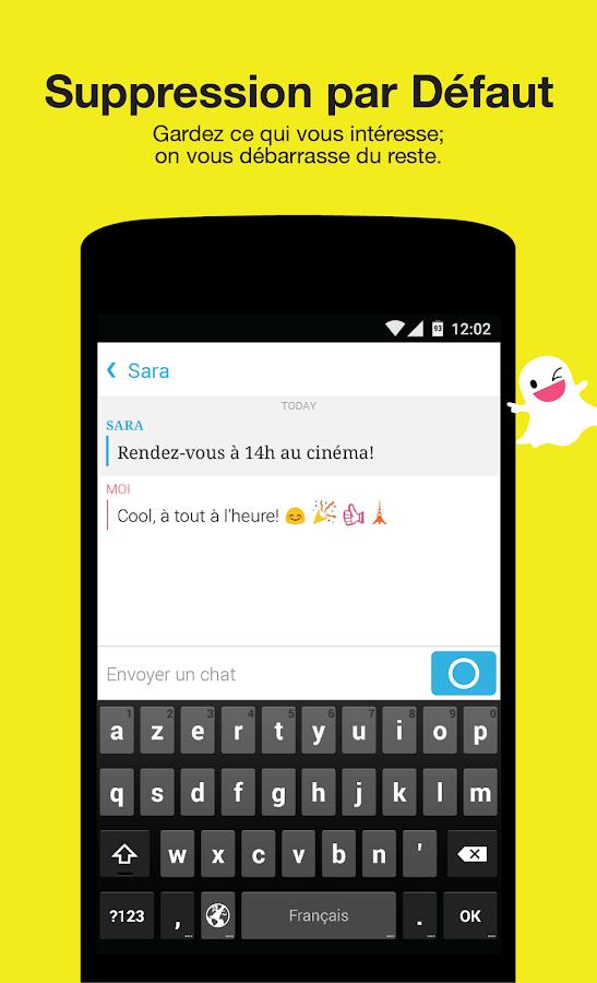 Snapchat - screenshot
