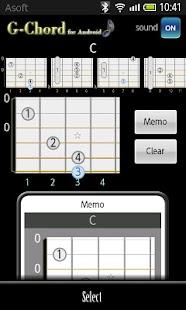 GChord  (Guitar Chord Finder) - screenshot thumbnail