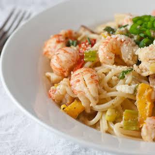 Cajun Lobster Pasta.