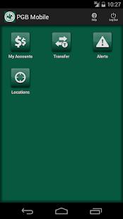 PGB Mobile Banking - screenshot thumbnail
