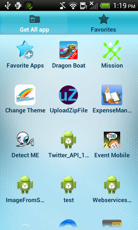 FavShare Apps- screenshot