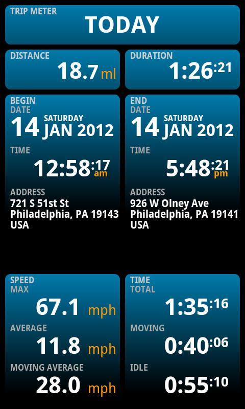 Ulysse Speedometer Pro Screenshot 6