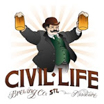 Logo of Civil Life Big Year Brown