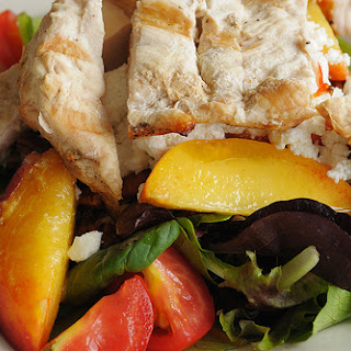 Sliced Chicken Salad with Chili-Ginger Vinaigrette