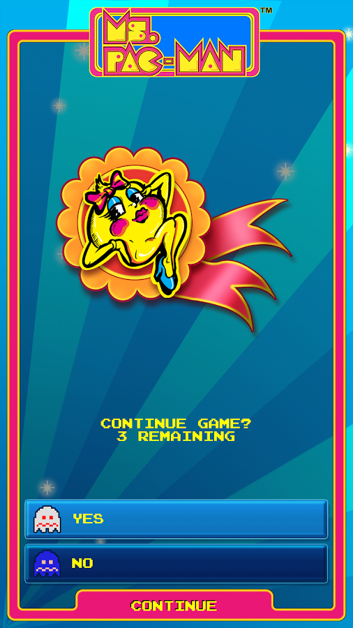 Ms. PAC-MAN by Namco - screenshot