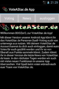 VoteAStar Foto Voting Free - screenshot thumbnail