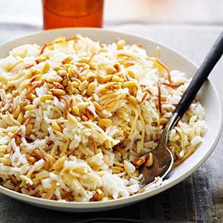 Armenian Pilaf with Pine Nuts.