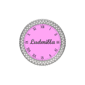 Ludmilla Widget clock