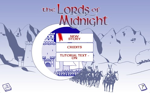 The Lords of Midnight- screenshot thumbnail