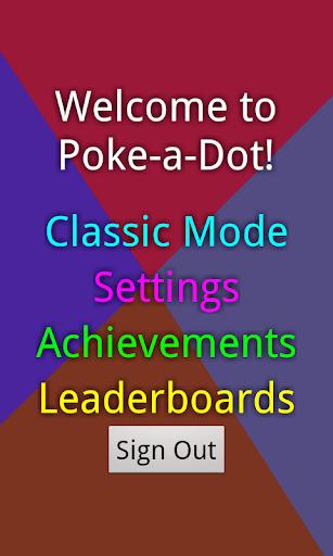 Poke a Dot