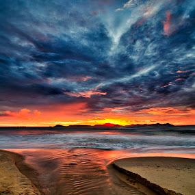 *** by Low Jian Shien - Landscapes Sunsets & Sunrises ( seascape, singkawang )