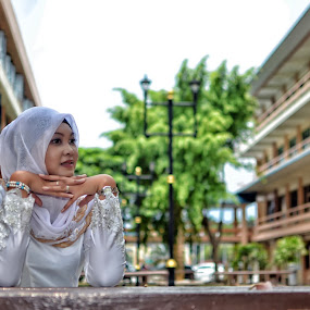 Still Waiting by Tun Izmir - People Portraits of Women ( melayu, malay girl, malay, malaysia )