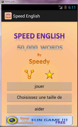 Anglais pour les francophones