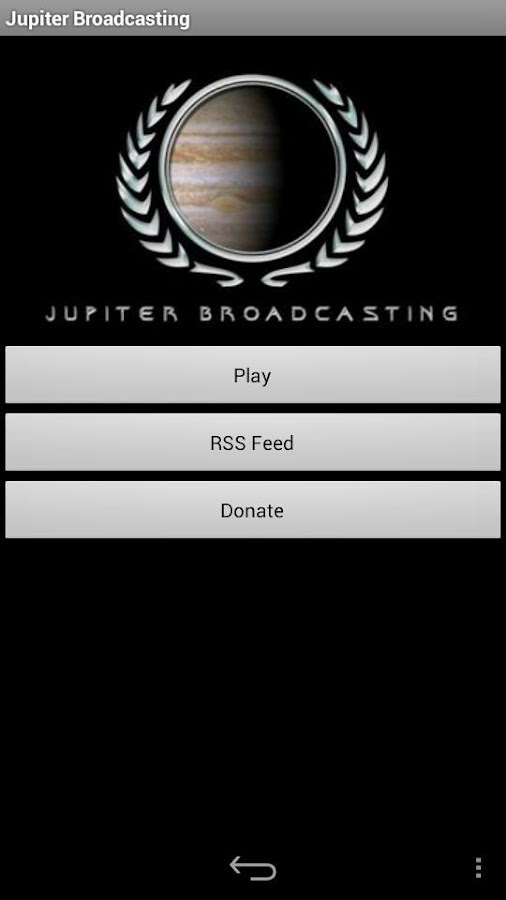 Jupiter Broadcasting- screenshot