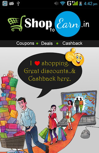 Shop to Earn - Coupons Deals