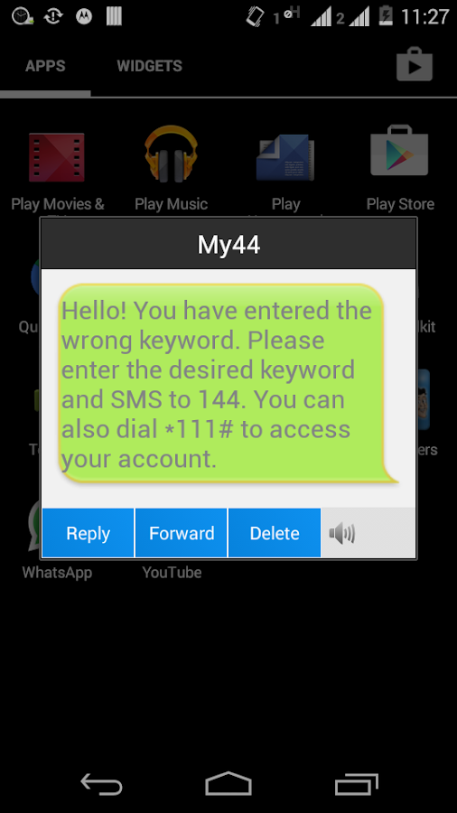 Auto SMS Sender - screenshot