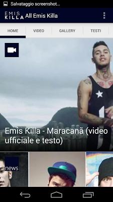 Emis Killa news video testi - screenshot