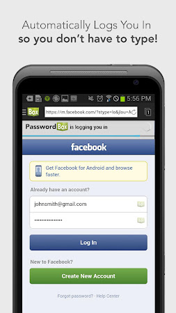 PasswordBox Free Password Safe 2.0.0.0 screenshot 637088