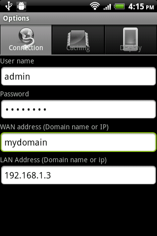 IHCDroid- screenshot