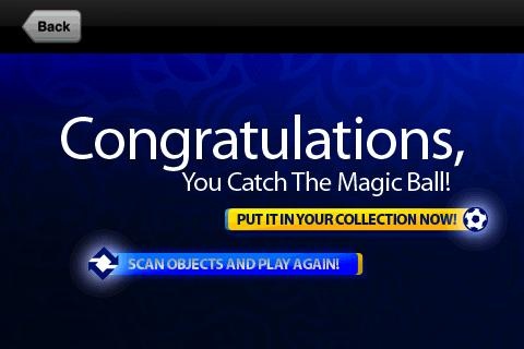 Catch The Magic Ball - screenshot