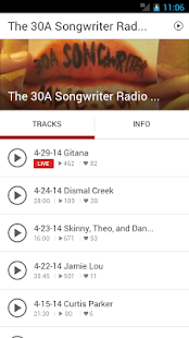 30A Songwriter Radio- screenshot thumbnail