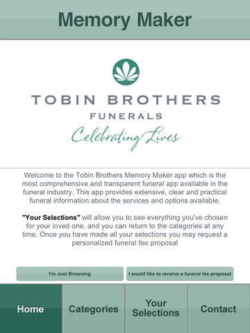 Tobin Brothers Memory Maker