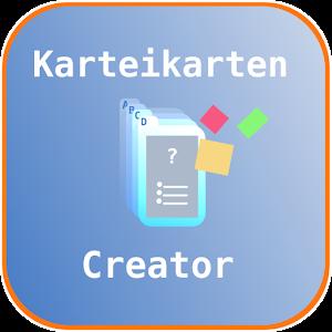 KarteikartenCreator for Android