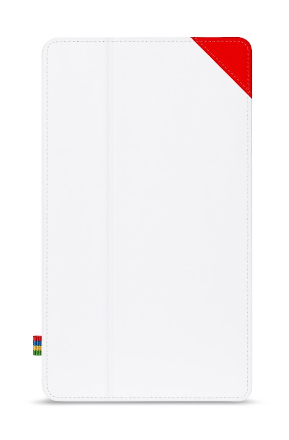 Nexus 7 (2013) Case - White/Red - screenshot