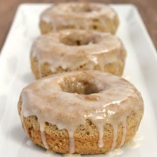 Spice Cake Doughnuts with Vanilla Bean Glaze