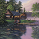 Log Cabin Ripple Live Wallpape