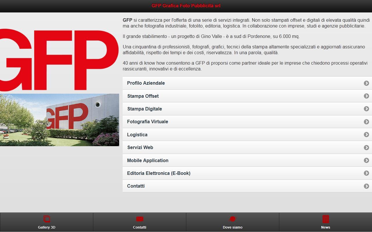 GFP Grafica Foto Pubblicità - screenshot